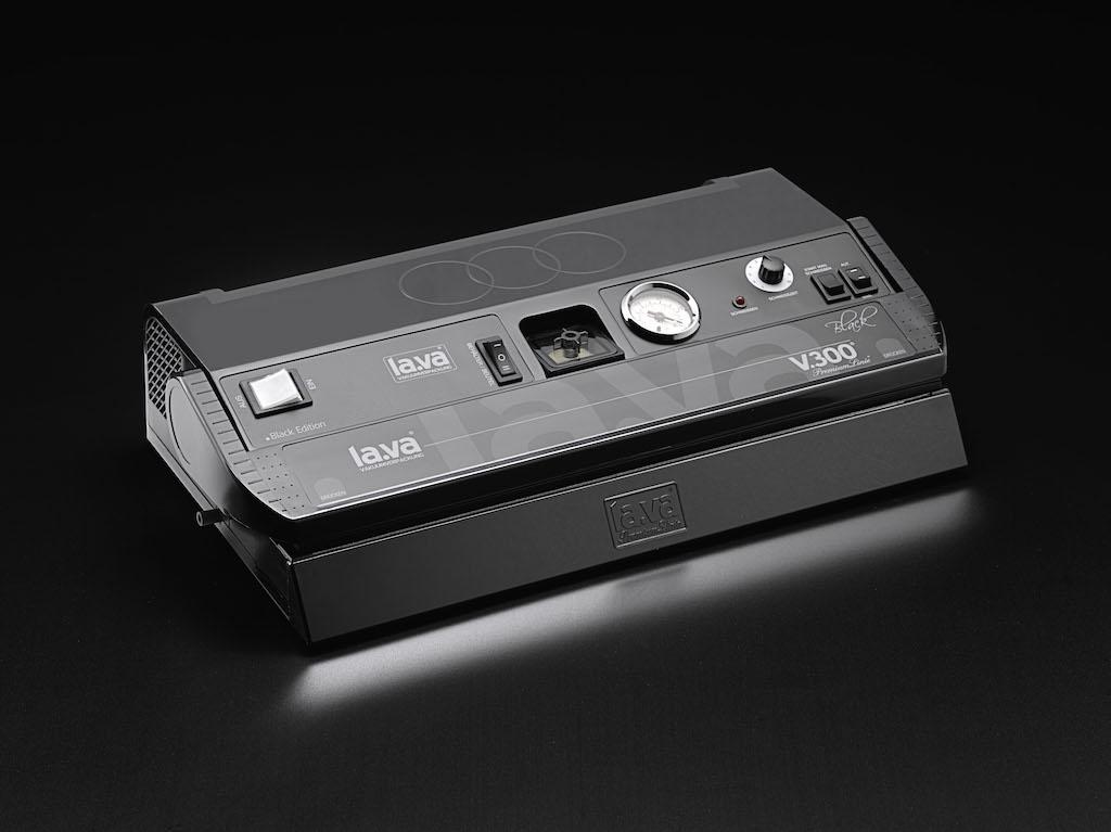 V.300 Black, Vakuumierer Lava, Vakuumiergerät für Jagdbereich