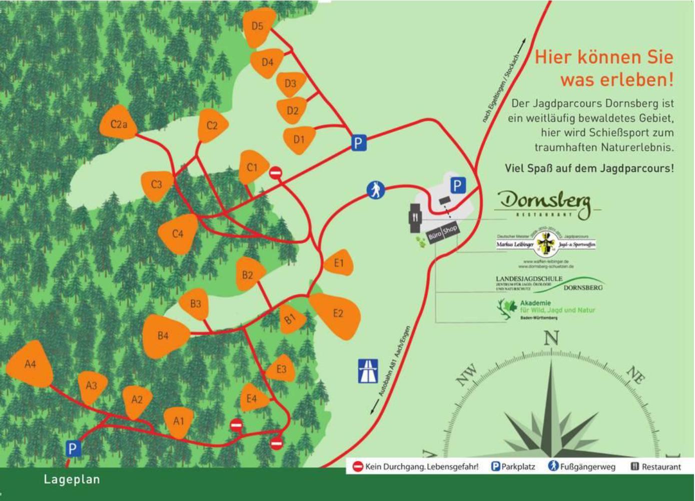 Lageplan Dornsberg