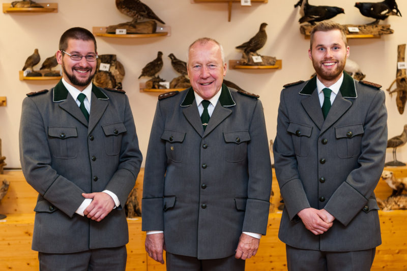 Betriebsübergabe der Jagdschule Emsland