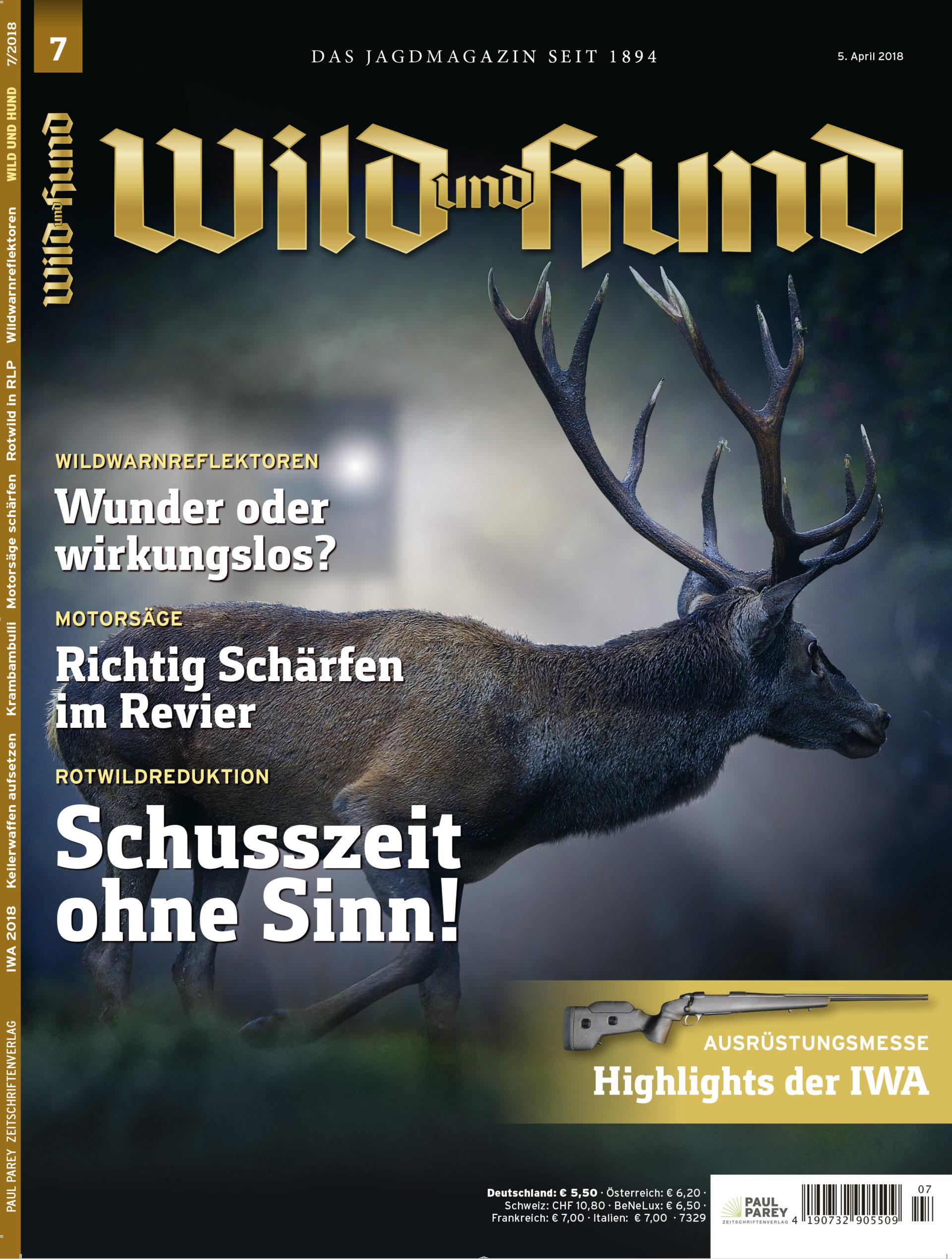 WILD UND HUND Heftvorschau 7/2018 - WILD UND HUND