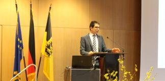 Umwelt-Staatssekretär Dr. Andre Baumann