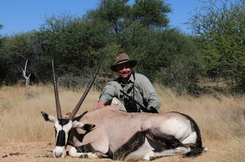 Erlegerfoto Namibia