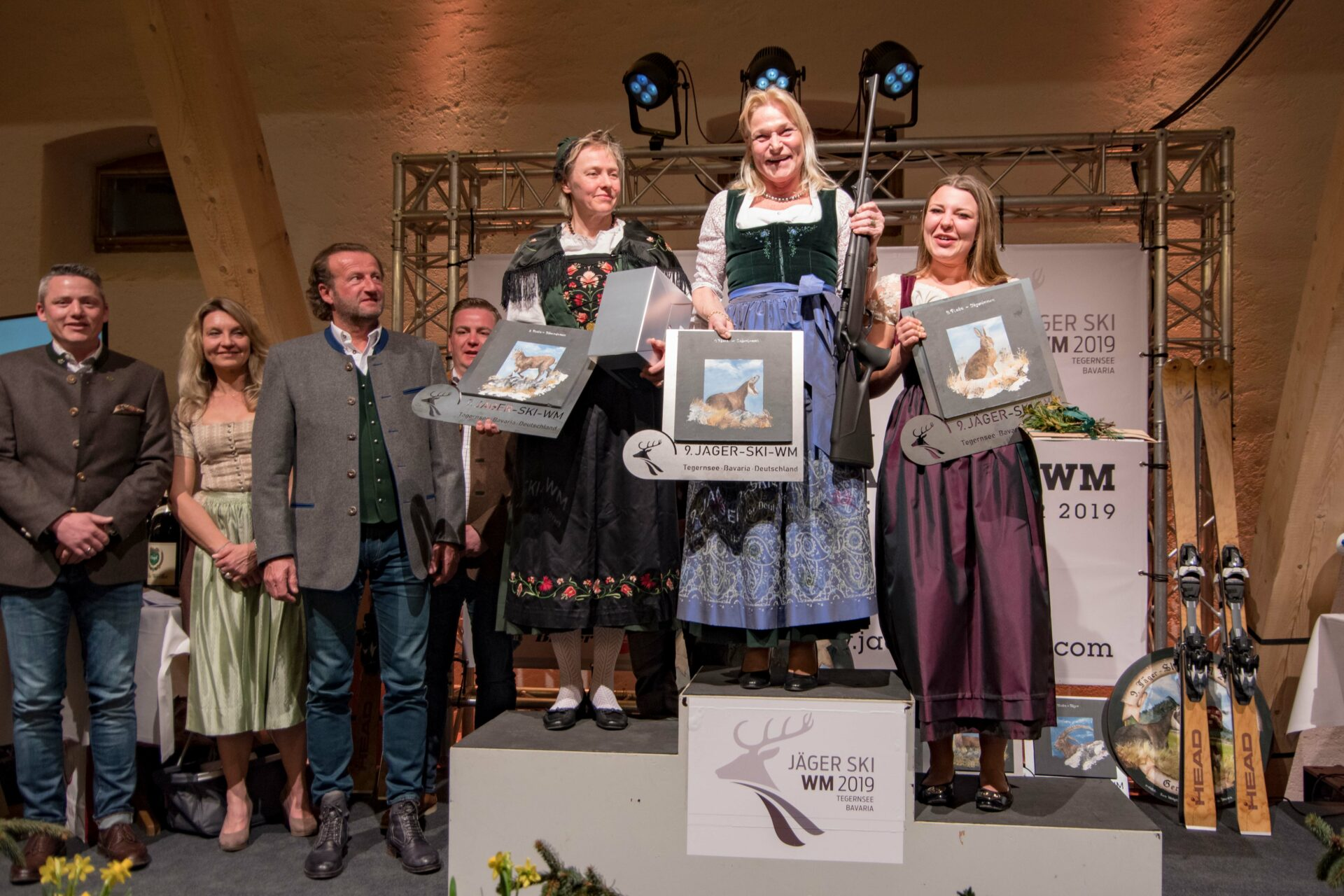 Jäger-Ski-Weltmeisterschaft: Bayerische Jägerinnen vorne - WILD UND HUND