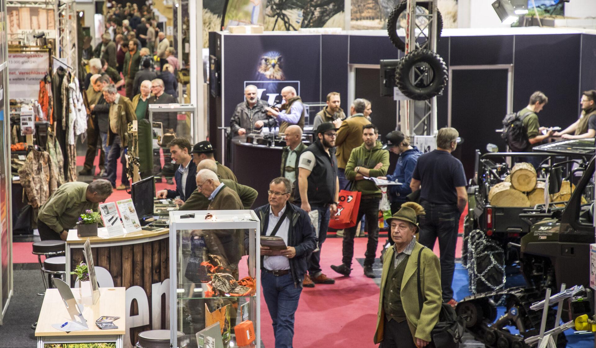 """Messe """"Die Hohe Jagd & Fischerei"""": Zweitbeste Besucherbilanz in Salzburg - WILD UND HUND"""