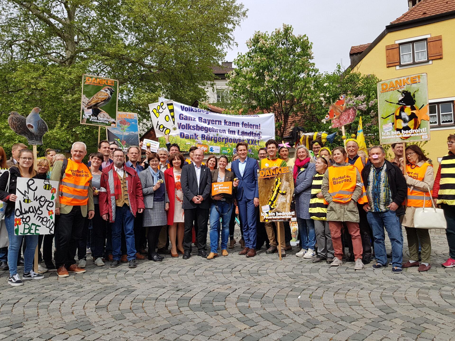 """Bayern: Volksbegehren Artenvielfalt und """"Versöhnungsgesetz"""" beschlossen - WILD UND HUND"""