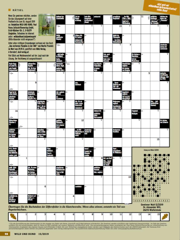 Kreuzworträtsel Online De