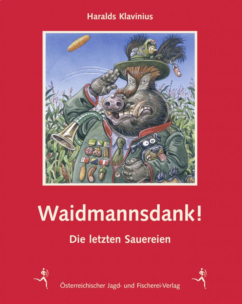 Titel des Buches Waidmannsdank!